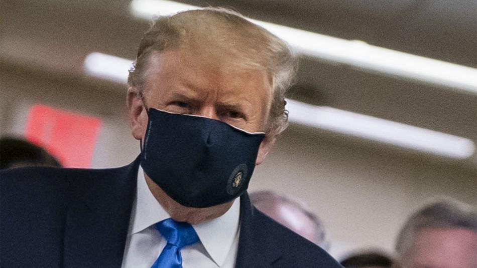 Cambió de opinión: Trump defiende el uso del tapabocas en Estados Unidos como gesto