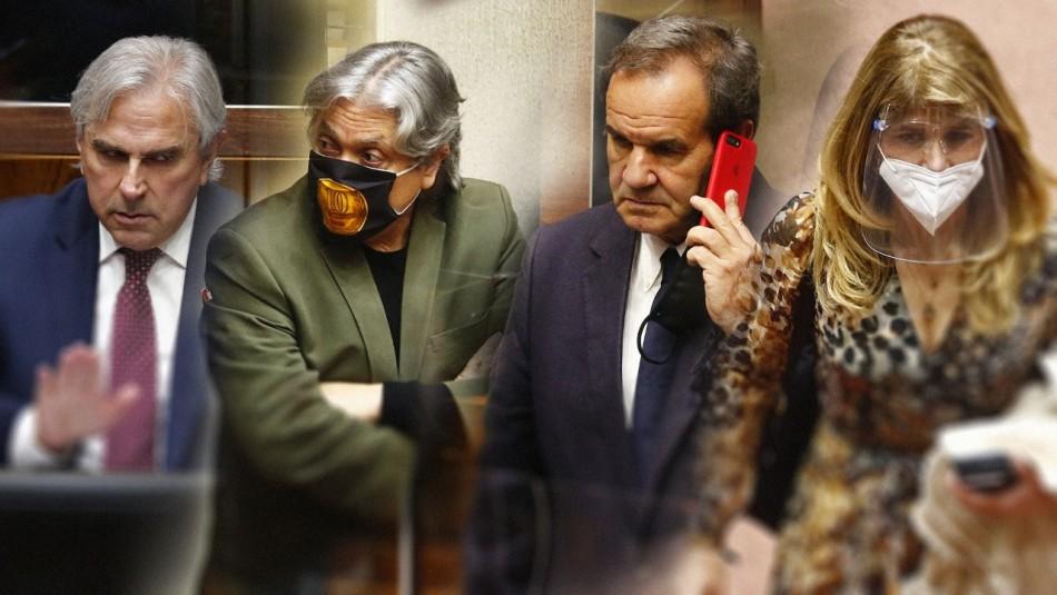 Fotos de la acalorada votación en el Senado por retiro de fondos de las AFP