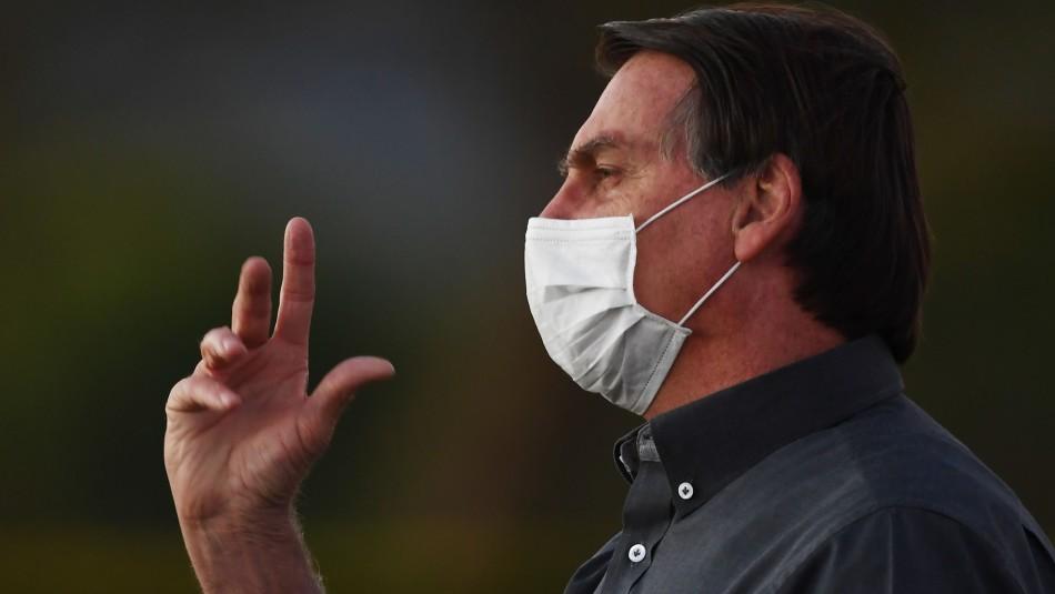Jair Bolsonaro da positivo al test de coronavirus por tercera vez