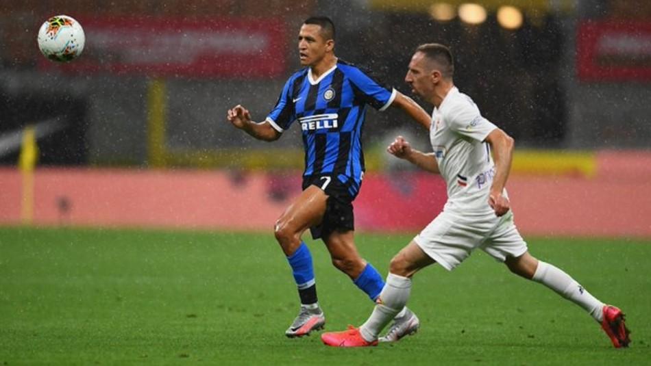 Alexis Sánchez busca triunfo ante Inter en duelo de chilenos.