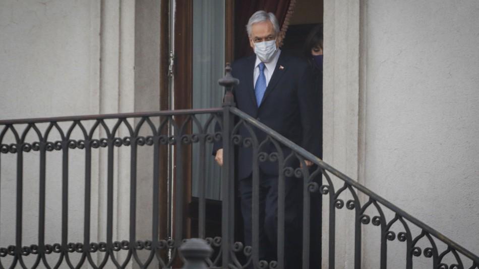 Piñera y eventual veto a retiro de fondos AFP: