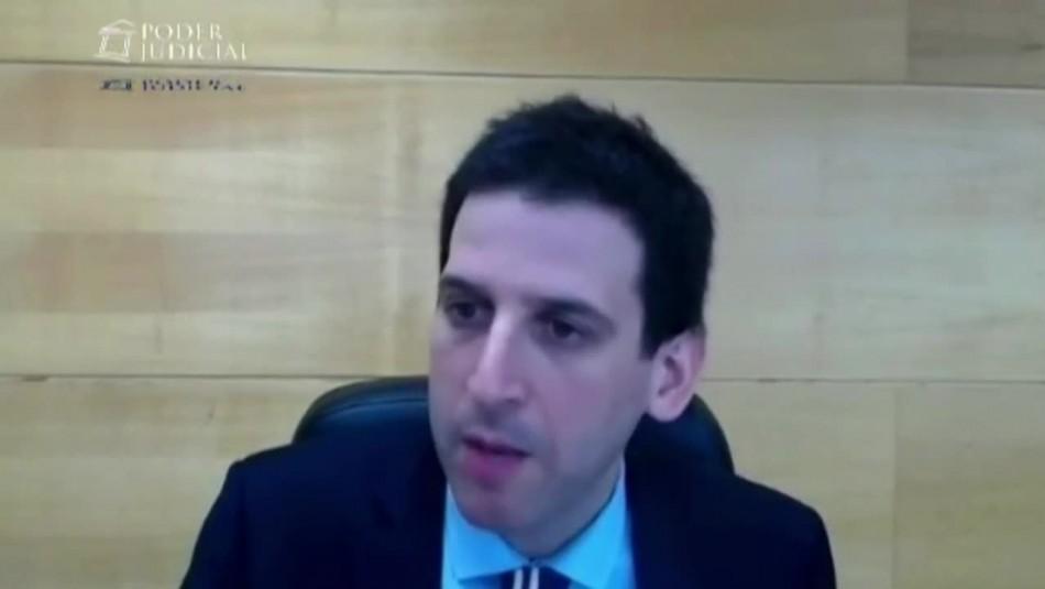 Fiscal por cautelares de Martín Pradenas: