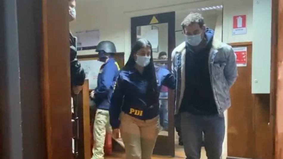 Caso Antonia Barra: Trasladan a Martín Pradenas a cárcel de Valdivia