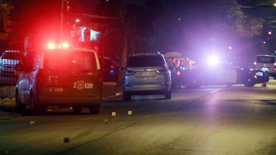 Volcamiento de auto deja cuatro heridos en Cerrillos: Ocupantes habrían estado bajo efectos del alcohol