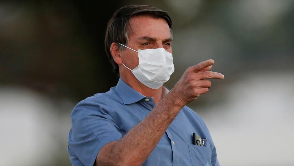 Jair Bolsonaro anuncia haber dado negativo a examen de detección de coronavirus