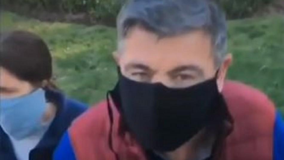 Video muestra a exconcejal de Viña del Mar insultando y amenazando a recolector de basura