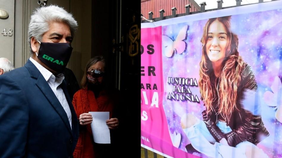 Padre y caso Antonia Barra.