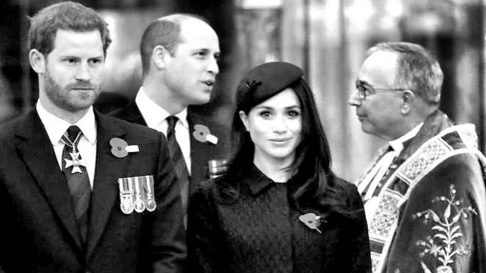 Controversial biografía revela lo que el príncipe William piensa de la relación de su hermano con Meghan Markle