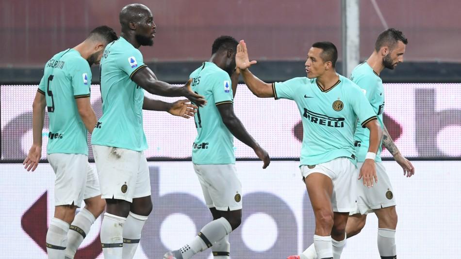 Alexis Sánchez busca triunfo con el Inter de Milán.