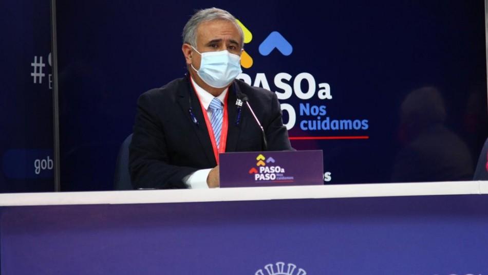 Doctor Ugarte en el balance del Minsal: Plan de desconfinamiento