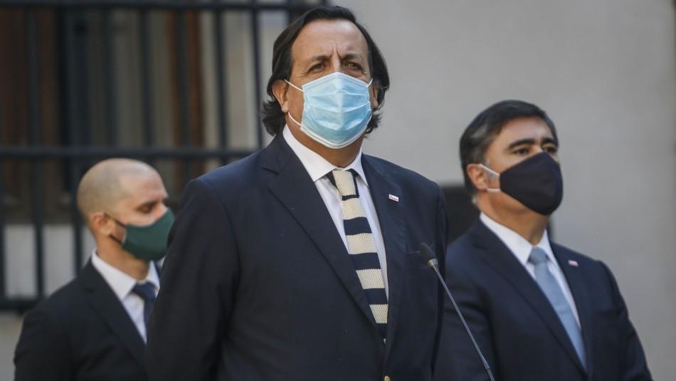 Víctor Pérez tras asumir en Interior: