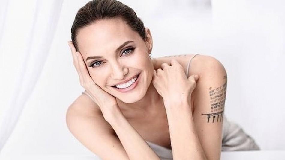 Las fotos inéditas de Angelina Jolie a sus 14 años como una adolescente