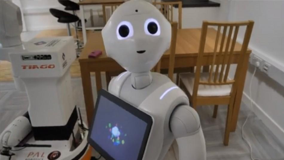 Programan robots para asistir a personas aisladas con coronavirus en Escocia