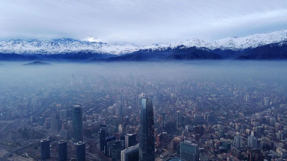 Decretan nuevamente alerta ambiental para este viernes en la Región Metropolitana