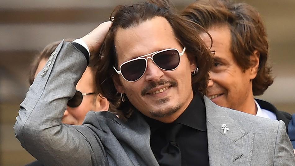 Johnny Depp lo