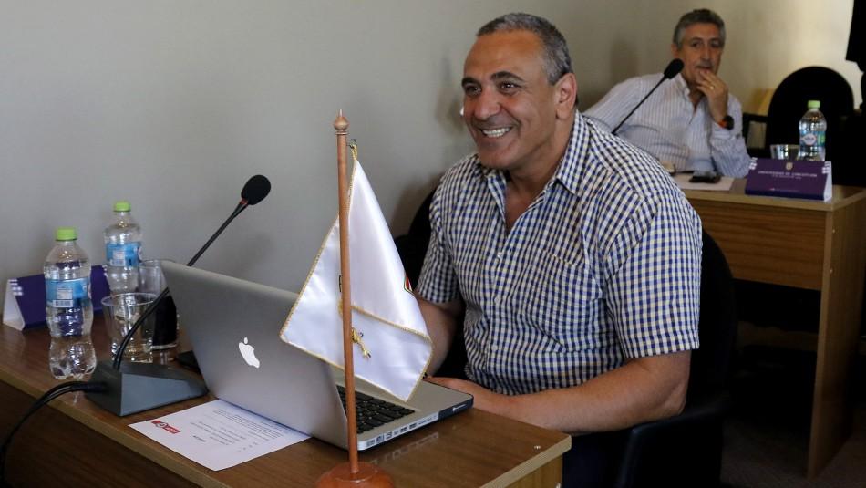 Pablo Milad es el nuevo presidente de la ANFP.