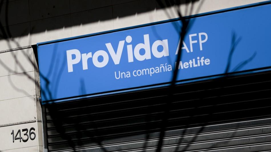 AFP Provida por intermitencias en sitio para retiro del 10%: