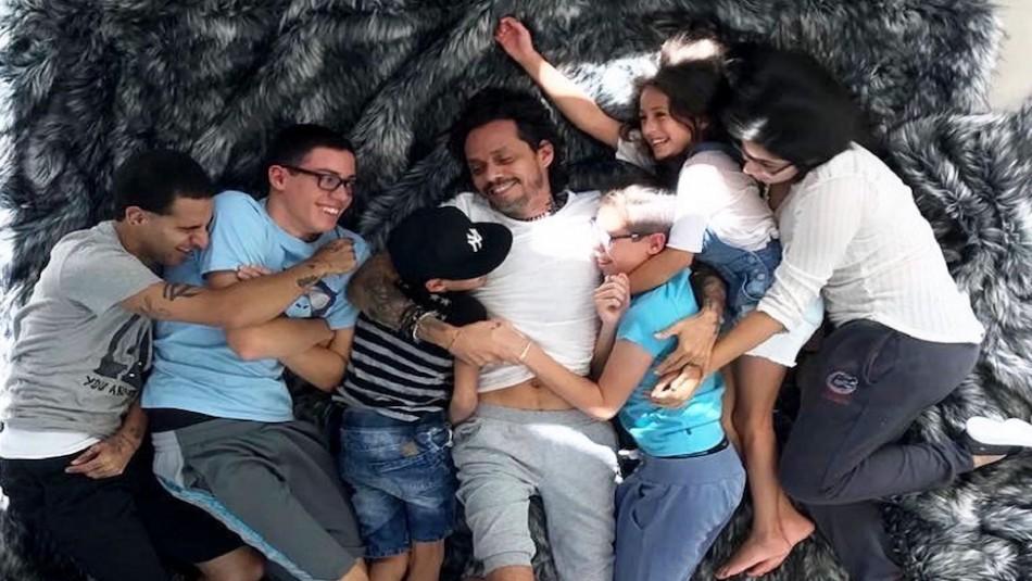 Estos son los seis hijos de Marc Anthony: La mayor tiene casi 30 años y uno de ellos es adoptado