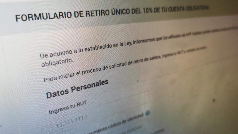 Retiro de fondos: Permiten navegar gratis en sitios web de las AFP