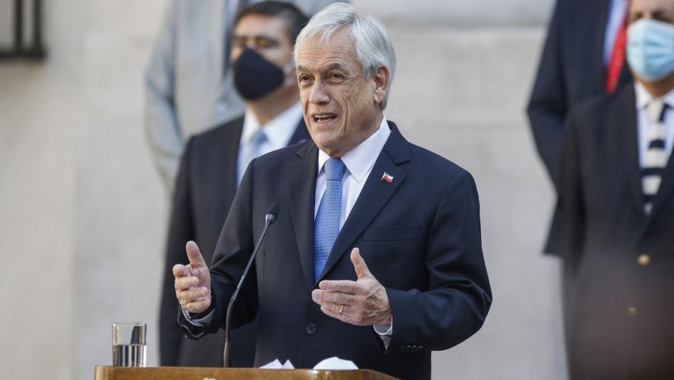 Cadem: Aprobación de Piñera registra alza de 8 puntos y llega a 20%