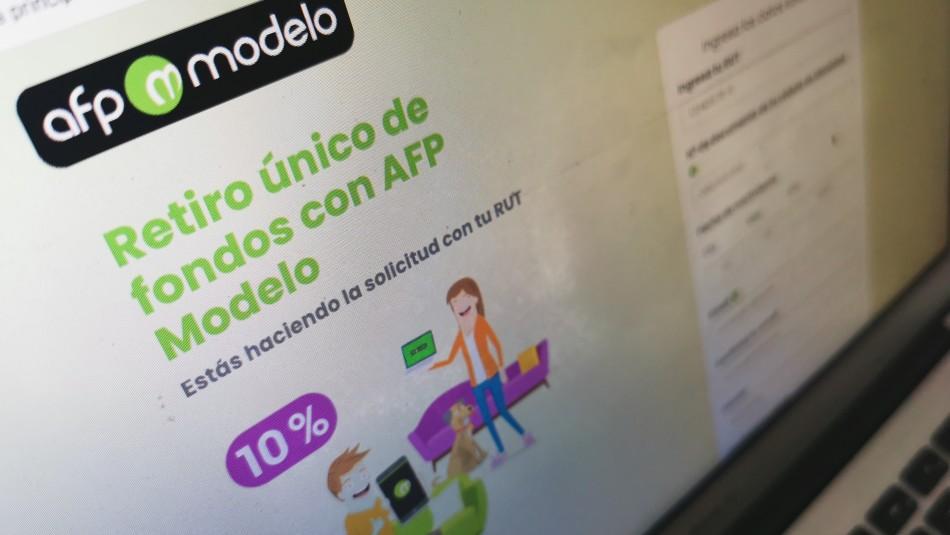 Sitio web de AFP Modelo nuevamente presenta intermitencias para solicitar retiro del 10%
