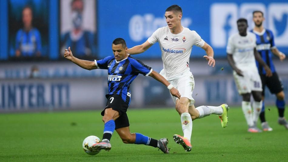 Alexis Sánchez busca triunfo con Inter.