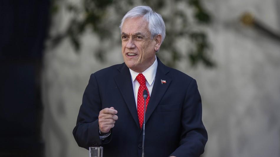 El mensaje de Piñera en la previa de la Cuenta Pública: