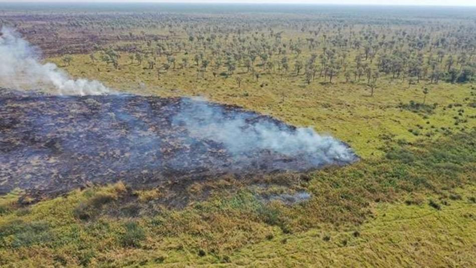 Incendio consumió 40 mil hectáreas de reserva natural en Bolivia