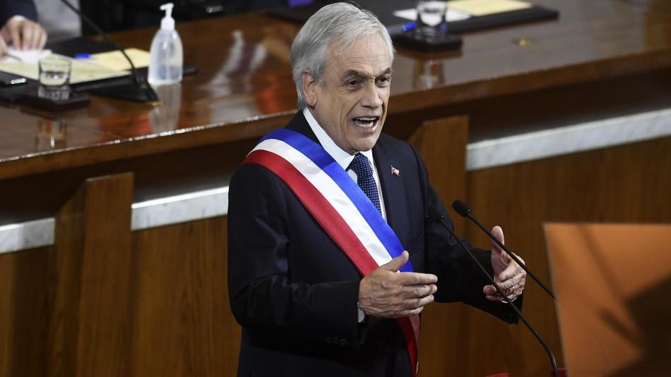 Presidente Piñera llama a la unidad: