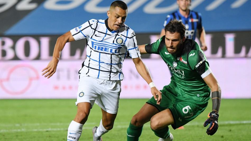 Alexis Sánchez juega en triunfo del Inter: Su equipo termina segundo en Italia