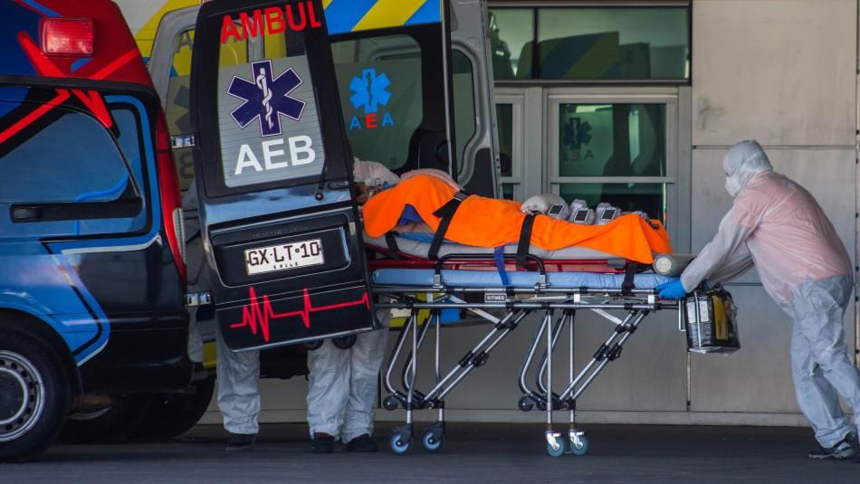 Balance del Minsal: Se superan las 9.500 personas fallecidas por coronavirus en Chile