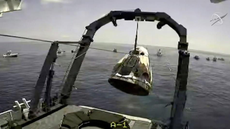 Cápsula Space X: Revisa las imágenes del exitoso regreso de los astronautas a la Tierra