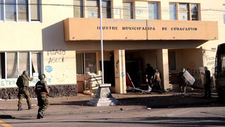 Gobierno presenta 9 querellas por hechos de violencia en La Araucanía