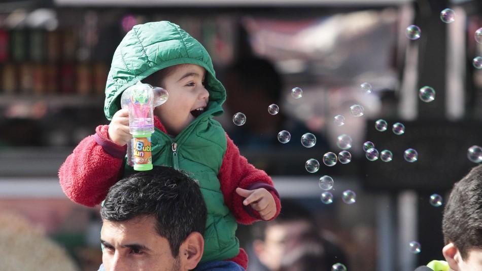 El Día del Niño se celebra el 16 de agosto.