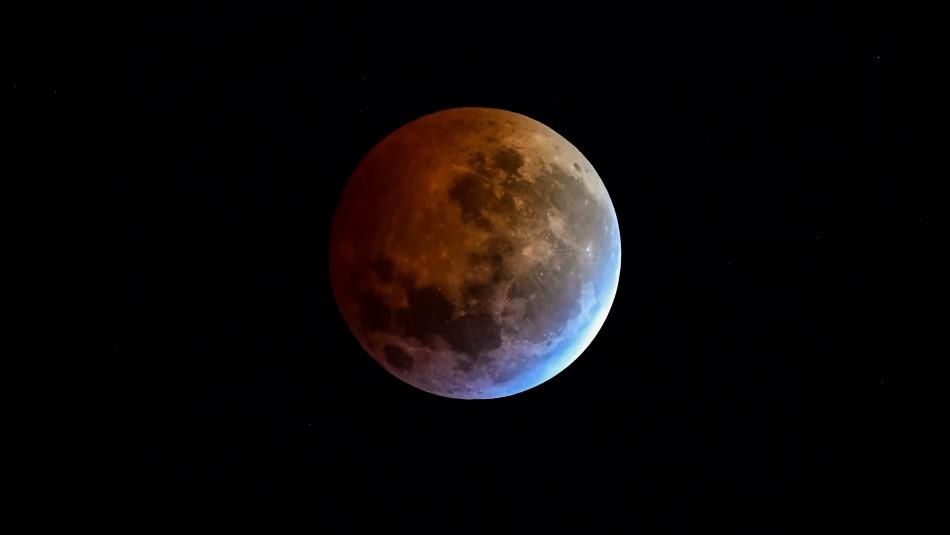 Meteorito impactó a la Luna en Eclipse Total de 2019.