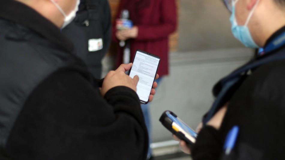 Carabineros anuncia que 6 permisos temporales ahora requerirán clave única