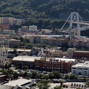 Italia inaugura el nuevo puente de Génova dos años después de la tragedia