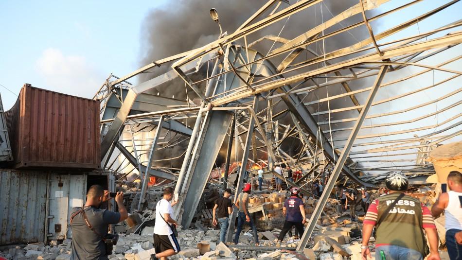 Explosiones en Beirut que dejan decenas de muertos y miles de heridos
