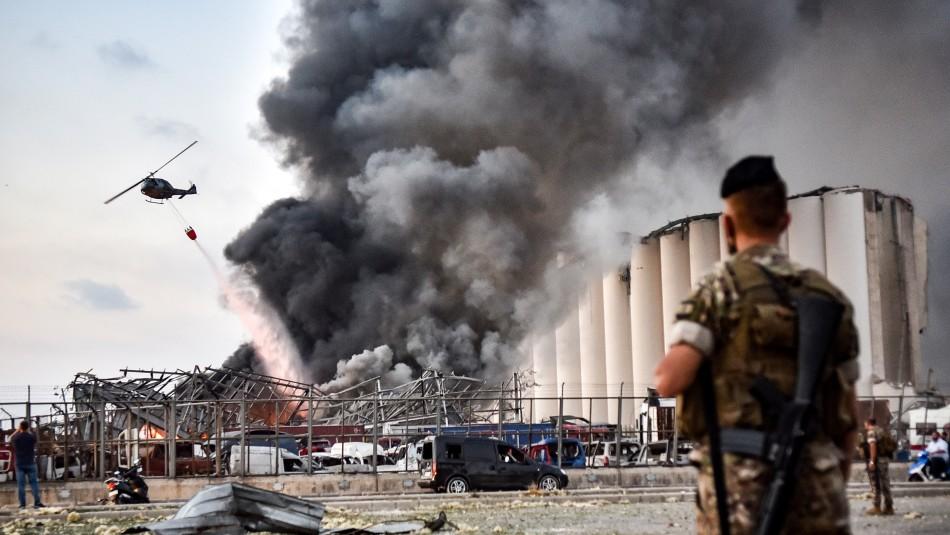 Videos muestran las increíbles explosiones en Beirut que dejaron decenas de muertos