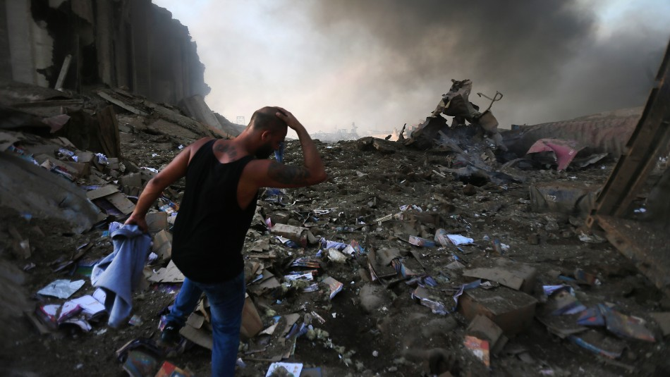 Líbano confirma  al menos 73 muertos y 3.700 heridos por explosiones en puerto de Beirut