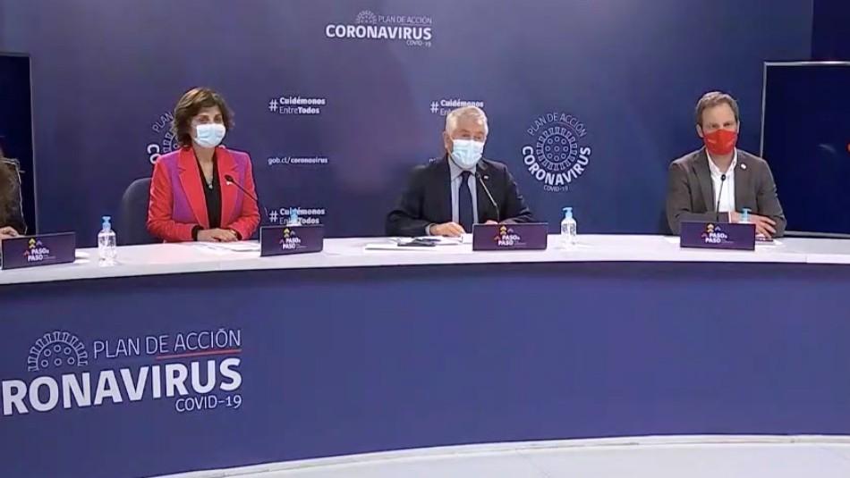 Minsal reporta 1.462 nuevos contagios por coronavirus, cifra más baja desde principio de mayo