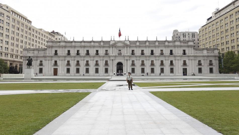 Presidencia confirma nuevo caso de coronavirus en La Moneda