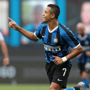 Alexis jugó 19 minutos en victoria del Inter ante Getafe que avanza a cuartos de Europa League