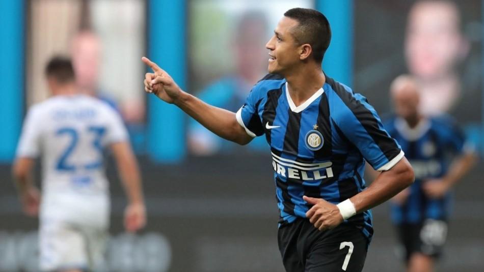Alexis Sánchez busca triunfo con Inter en Europa League.