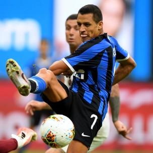 La doble alegría de Alexis Sánchez tras partido de Inter en Europa League