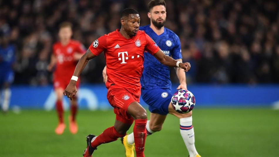 Se juega en el Allianz Arena.