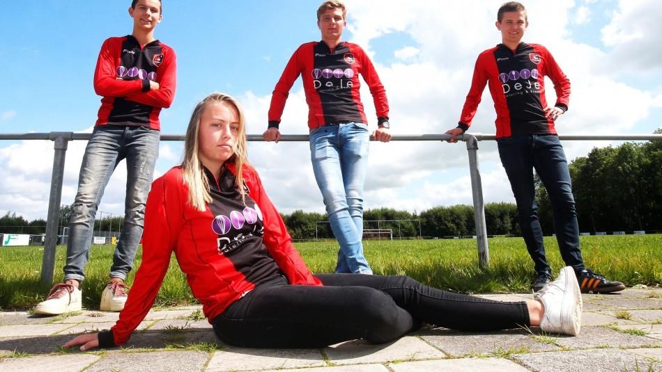 Ellen Fokkema hará historia en el fútbol de Holanda.
