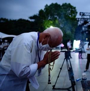 Conmemoran los 75 años de la bomba atómica en Hiroshima, lanzada durante la II Guerra Mundial