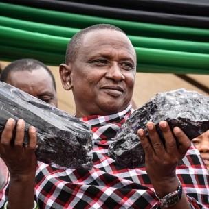 Afortunado minero encuentra por segunda vez una gema de más de 2 millones de dólares en Tanzania