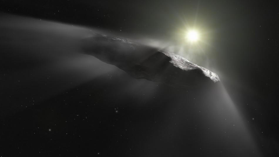 Asteroides se acercan a la Tierra.